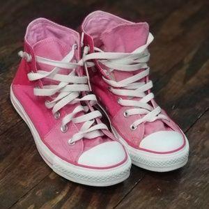 RARE Pink Converse Hightop